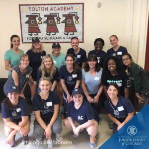 Junior League of Chicago Volunteers