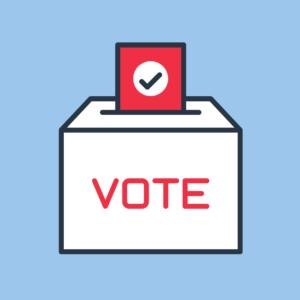 a ballot box illustration